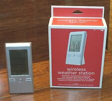 Wireless Weather Station Automatic Temperature Detection & Full Calendar Option!