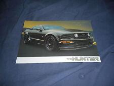 2008 Ford Mustang Hunter Agent 47 Special Edition Brochure prospekt