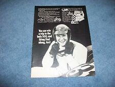 1971 Vintage MPC 500 Model Kit Idea Contest Ad with Dan Gurney