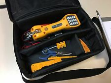 Fluke Networks 11290000 Electrical Contractor Telecom Kit w/ TS30 Telephone NOS