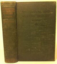 Myers, Philip Van Ness - Mediaeval and Modern History - 1919 - revised/HC/Good+