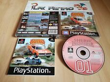 PLAY STATION PS1 PSX DUKES OF HAZZARD RACING FOR HOME COMPLETO PAL ESPAÑA