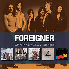 Foreigner ORIGINAL ALBUM SERIES Box Set DOUBLE VISION 4 Head Games NEW 5 CD