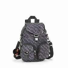 Kipling  Firefly N Small Backpack Shoulder Bag FESTIVE GEO Print HPS16/17 RRP£79
