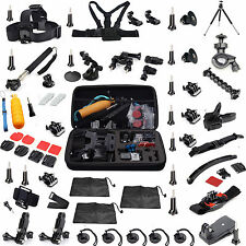 56 All-in-1 Professional Kit Accessories Bundle for Gopro HD Hero 4 3+ 2 1 SjCAM