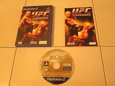 PS2 - UFC THROWDOWN - Completo e funzionante!!!
