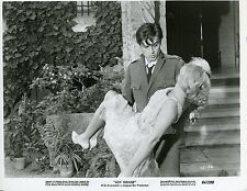 ALAIN DELON JANE FONDA  LES FELINS 1964 VINTAGE PHOTO ORIGINAL N°2 RENE CLEMENT