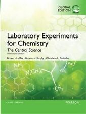 Laboratory Experiments for Chemistry: The Central Science by Kenneth C. Kemp, Jo