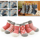 4 Pairs/set Kids Socks Soft Cotton Newborn Infant 0-3 Years Lovely Baby Fashion