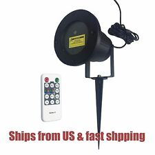 Remote Waterproof Outdoor Moving Laser Light for Landscape Garden Stage Xmas