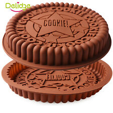 "9"" Round Star Silicone Cake Pan Tray Mould Home Bakeware Round Baking Ovenware"