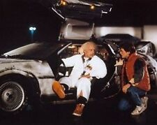 Back to the Future Doc, Marty and Dolarean 10x8 Photo
