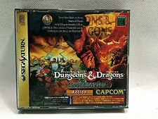 Used Sega Saturn Dungeons & Dragons Collection Import Japan