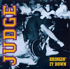 Judge Bringin' It Down Red Vinyl Lp NYHC CRO-MAGS AGNOSTIC FRONT YOUTH OF TODAY