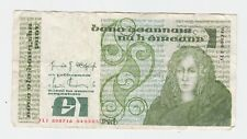 1985 Central Bank of Ireland One Pounds Banknote 1 Pound E-286
