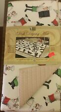 """NEW Kitchen Microfiber Quick Drying Mat, washable, (16""""x 24""""), FAT CHEF"""