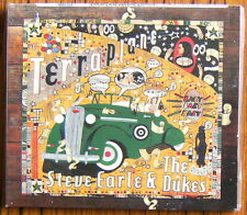 STEVE EARLE & THE DUKES Terraplane CD + DVD Digipack (2015) NEW & SEALED