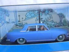 Le taxi bleu de l'ile noire Ford Zephyr MK III Hergé Moulinsart voiture Tintin