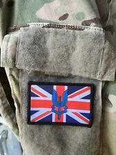 Union Jack Special Forces SAS Morale Patch Tactical Military USA Hook Badge Army