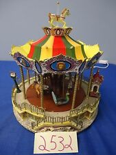 Lemax Village Collection Bellmont Carousel 44171 As-Is 2532