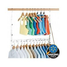 Closet Organizer Systems Kids Baby Childrens Hanging Doubler Clothes Storage Rod