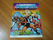 Vintage Masters of the Universe Mini Comic - Escape From the Slime Pit