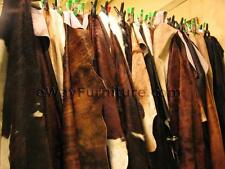 ONE BRAZILIAN COWHIDE RUG TOP QUALITY CHROME TANNED FIRST GRADE HUGE SELECTION