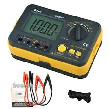 VICHY VC480C+ 3 1/2 Digital Milli-ohm Meter Multimeter With 4 Wire Test U B0243