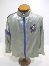 Vintage AC Delco Automotive Parts Windbreaker Race Jacket Large Size