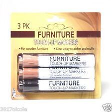 Furniture Repair Markers Touch Up Fillers 3 pc Long Lasting Stain Pens Marker