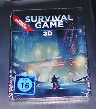 SURVIVAL GAME 3D  STEELBOOK EDITION BLU RAY SCHNELLER VERSAND NEU & OVP