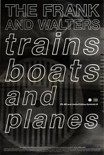 """31/10/92PGN11 THE FRANK & WALTERS : TRAINS BOATS AND PLANES ALBUM ADVERT 15X11"""""""