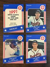 1991 Pro Cards  South Atlantic League A/S Minor League Game Set, CHIPPER JONES