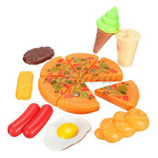 13x Plastic Kid Children Pizza Cola Ice Cream Food Kitchen Pretend Role Play Toy
