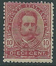 1891-96 REGNO UMBERTO I 10 CENT MNH ** - Y138