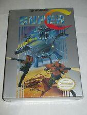 Super C Contra (Nintendo NES, 1990) NEW Factory Sealed #1