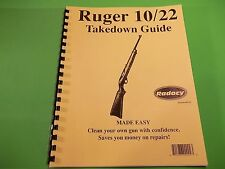 TAKEDOWN MANUAL GUIDE for the highly popular RUGER 10/22 CARBINE RIFLE
