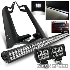 "For 97-06 Wrangler TJ 50"" Roof LED Light Bar/18W Spot A-Pillar Mounting Bracket"