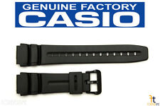 CASIO DW-280 Original 19mm Black Rubber Watch Band Strap AW-61 MD-309 MD-310