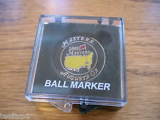 2008 MASTERS GOLF BALL MARKER AUGUSTA NATIONAL TREVOR IMELMAN PGA NEW