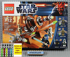 LEGO Star Wars - 9491 Geonosian Cannon - Barriss Offee Commander Gree Minifigure