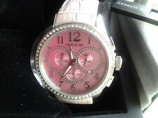 PINK CERRUTI 1881 Swiss made Lady Chronograph Wrist Watch (Brand New Boxed )