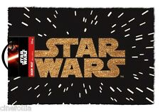 Zerbino Star Wars logo hyperspace Door Mat 40x60cm ufficiale Pyramid