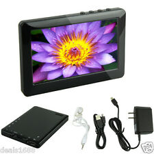 10.9cm pantalla LCD 8GB MP5 Reproductor Vídeo Digital Película MP3 MP4 Radio FM