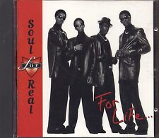 SOUL REAL - For life... - CD 1996 NEAR MINT CONDITION