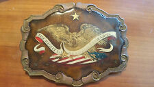 *EXTREMLY RARE*  BELT BUCKLE AMERICAN EAGLE - DEAN & ADAMS MINT PRIVATE EDITION!