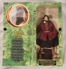 """LORD OF THE RINGS FRODO 12"""" FIGURE LOTR THE FELLOWSHIP OF THE RINGS"""