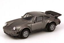 1:87 Porsche 911 turbo (Typ 930) grau grey metallic - Spiegel fest - Herpa 3060