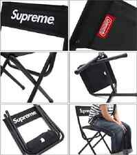 SUPREME 2015 S/S BOX LOGO COLEMAN PORTABLE FOLDING CHAIR PCL BLACK SEAT CANDY