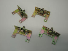 1 x SET  EASY FIX BED FITTING BRACKETS, HEAVY DUTY YELLOW PASSIVATED. FURNITURE